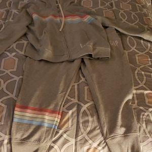 GAP cotton jacket & pants set